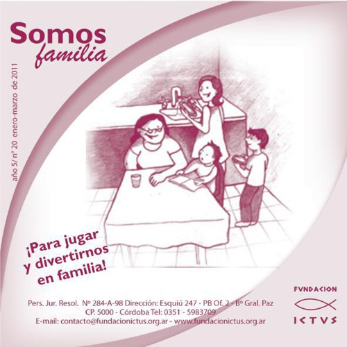 "Boletín ""Somos Familia"" N°20 - 2011"