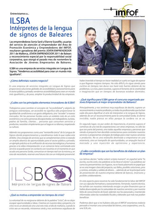 Entrevista ILSBA