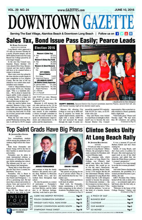 Downtown Gazette     June 10, 2016