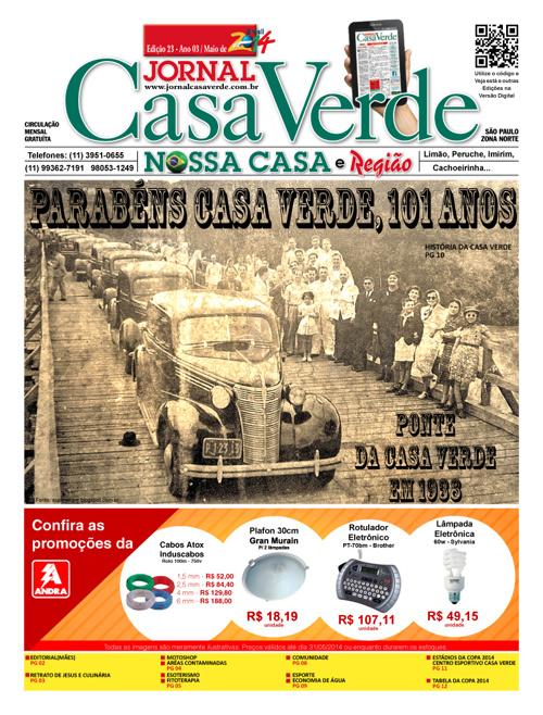 Jornal da Casa Verde - Edição 23