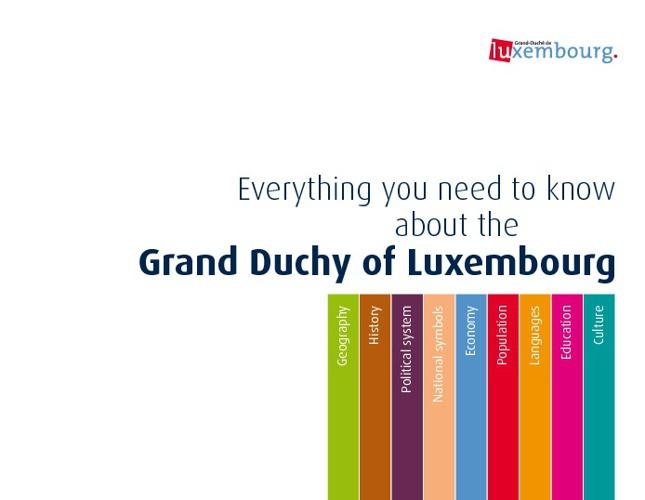 Все о Люксембурге