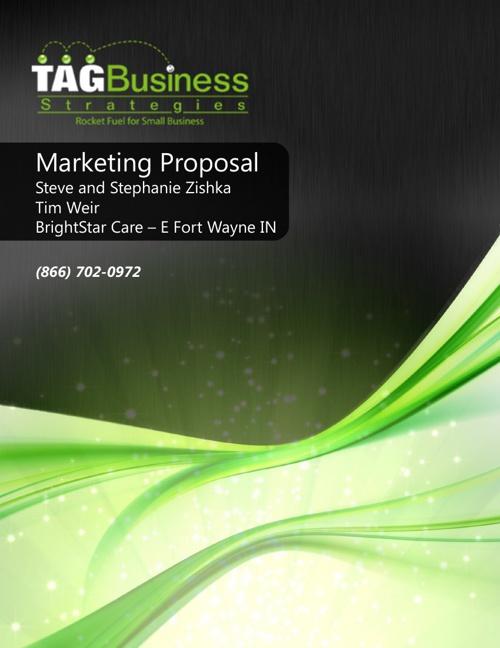 Marketing Proposal Brightstar Care E Fort Wayne IN