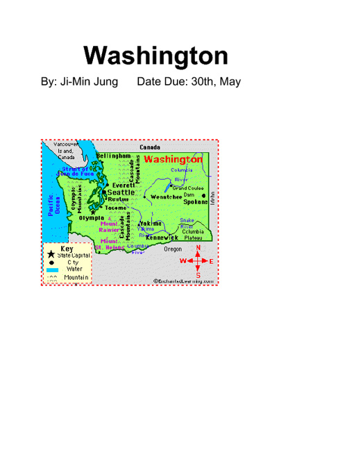 Washington state by Ji-Min
