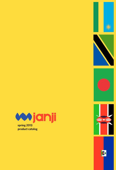 Janji Spring 2013 Catalog