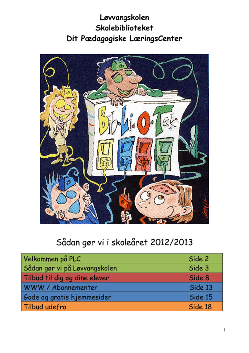 PLC-folder 2012-2013