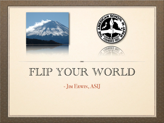 Flip Your World JASCD TIOM