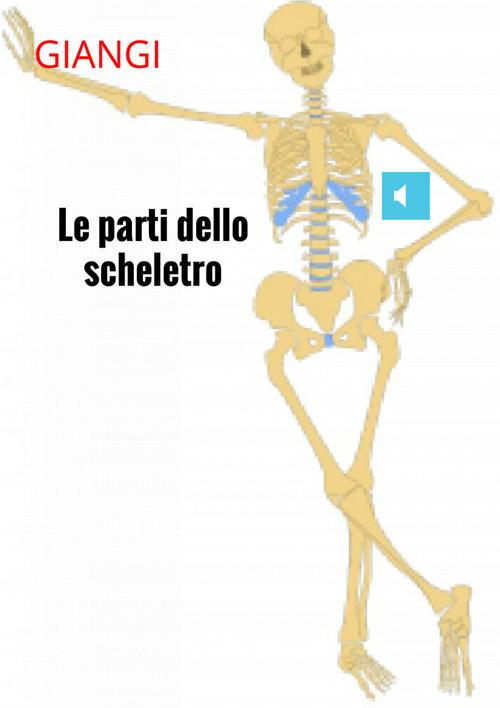 lo scheletro: del capo, arti superiori, arti inferiori, del tron