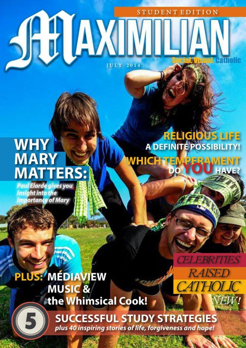 Maximilian July 2014 Student Edition preview