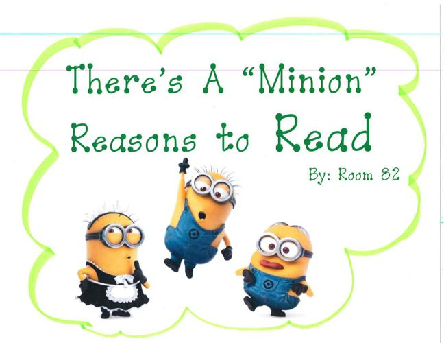 There's A Minon Reason to Read