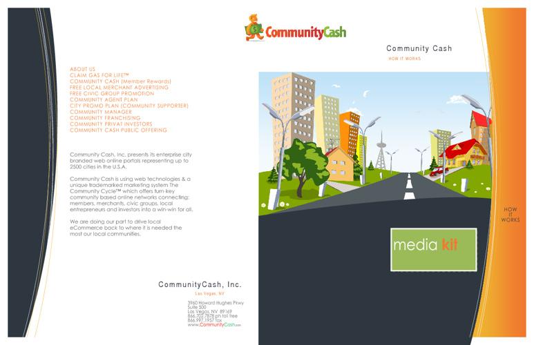 Media Kit Community Cash