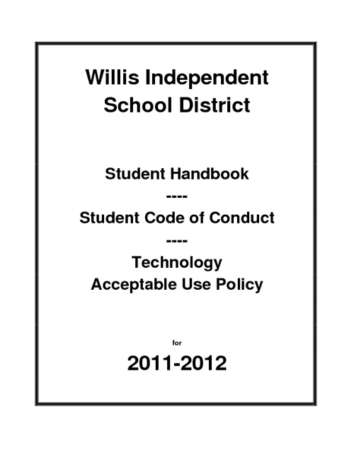 2011-2012 Student Handbook