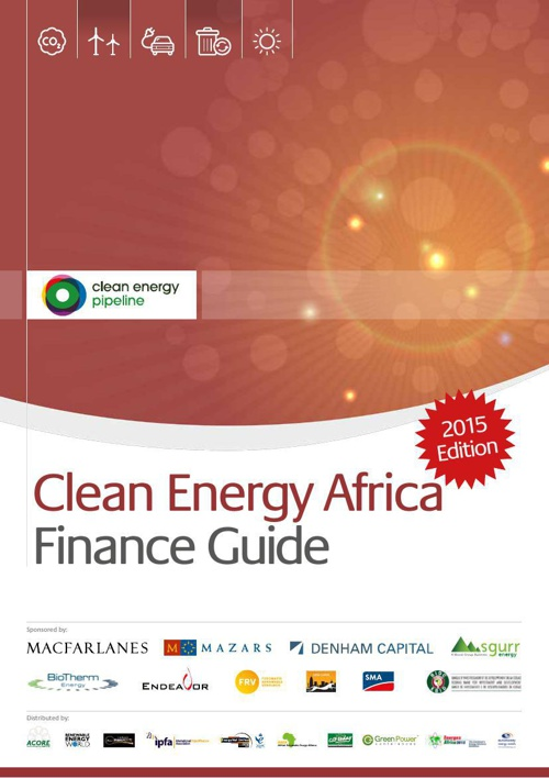Clean Energy Africa Finance Guide (2015 Edition)