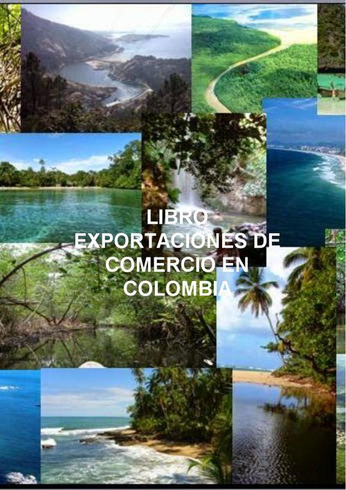Libro de exportaciones de comercio en Colombia