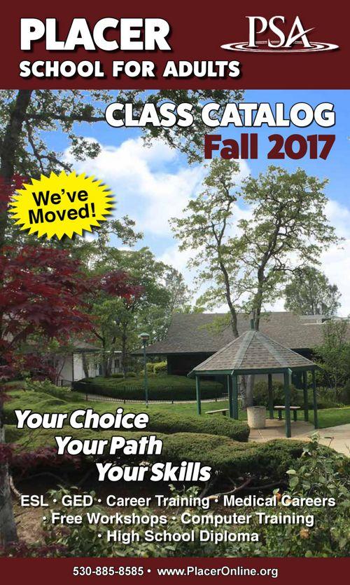 PSA Fall 2017 Catalog