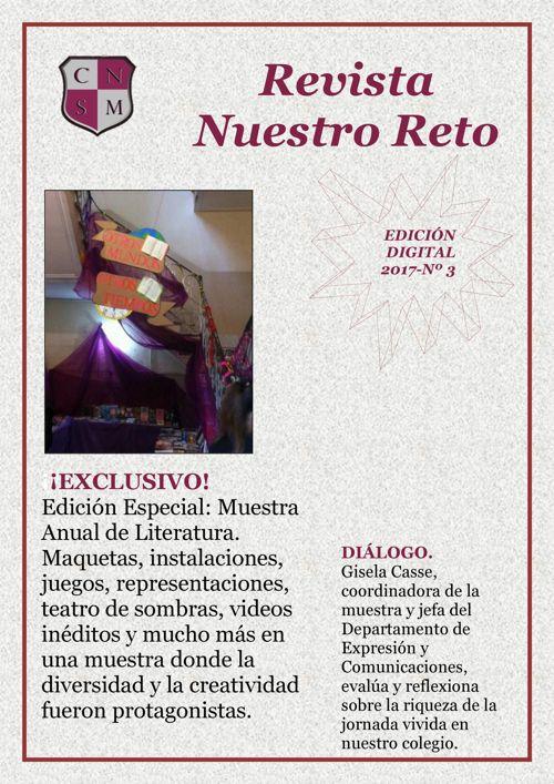 RevistaNuestroReto - Edición Especial - Muestra de Literatura 20