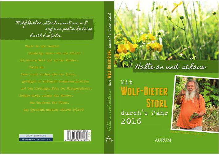 Mit Wolf-Dieter Storl durch's Jahr: Kalender 2016 - Leseprobe