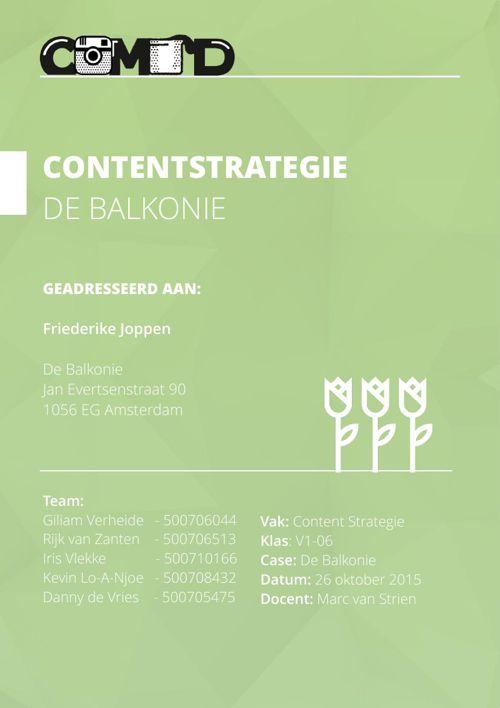 Eindverslag Contentstrategie.DEFINITIEF.26oktober