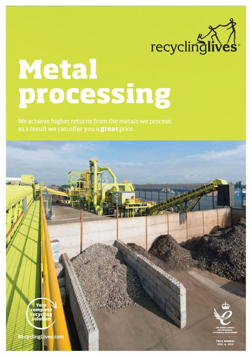 Recycling Lives Metal Processing