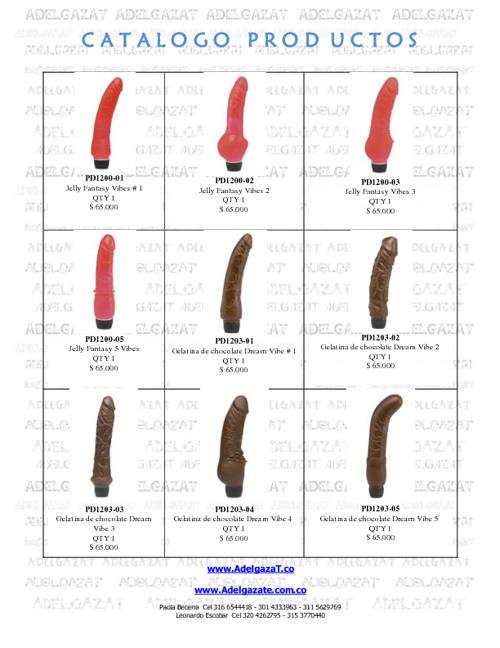 Catalogo Adelgazat Productos 2012