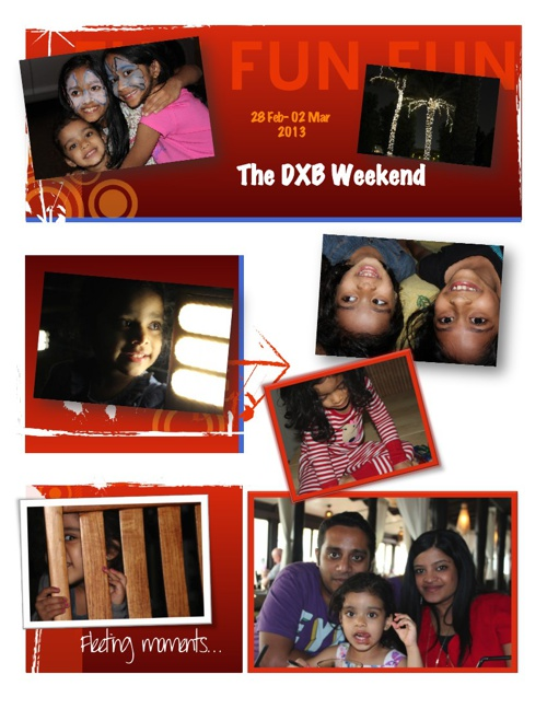 THE DXB weekend!