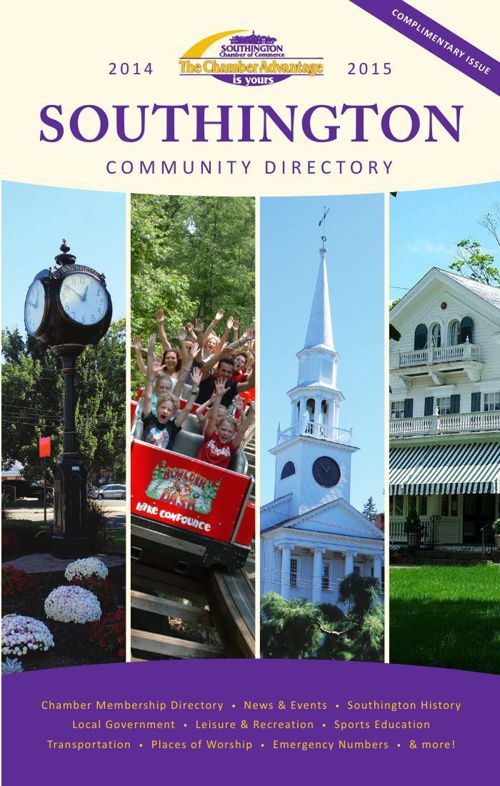 Southington Chamber of Commerce 2014 Membership Guide