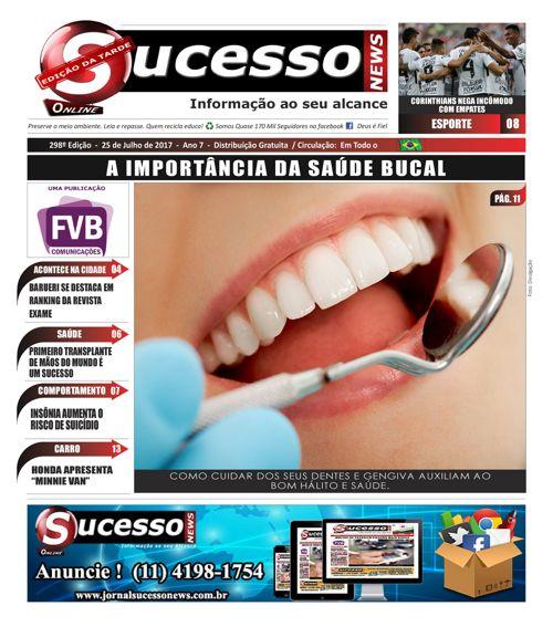 Jornal Sucesso News - Edição - 298 ONLINE