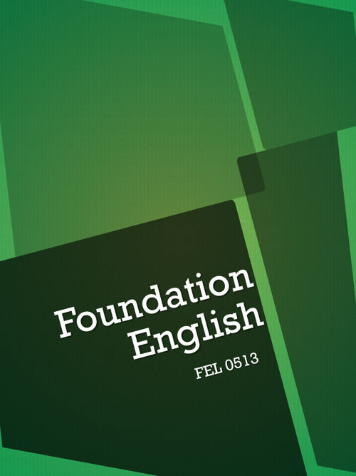 Foundation English Syllabus