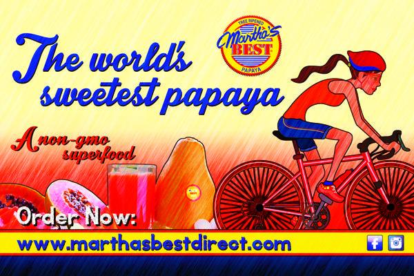 Marthas Best Marathon Advertisement