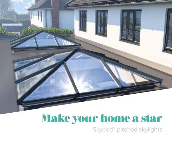 skypod eurocell lantern roofs