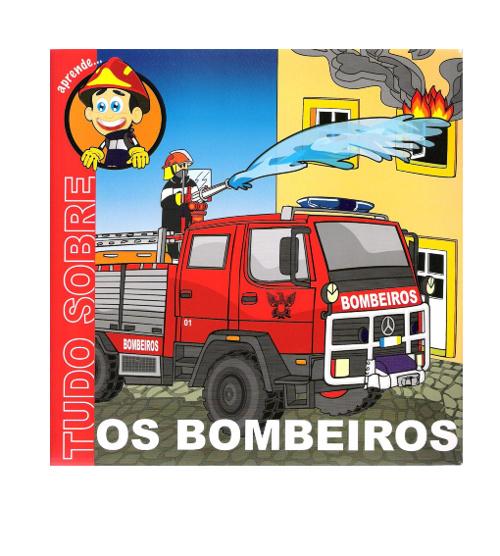 Livro bombeiros para crianças