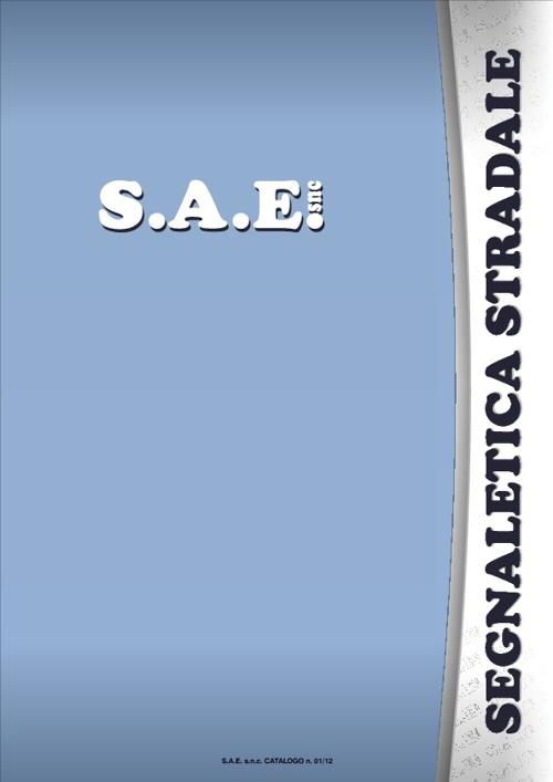 S.A.E. catalogo segnaletica stradale 01_12