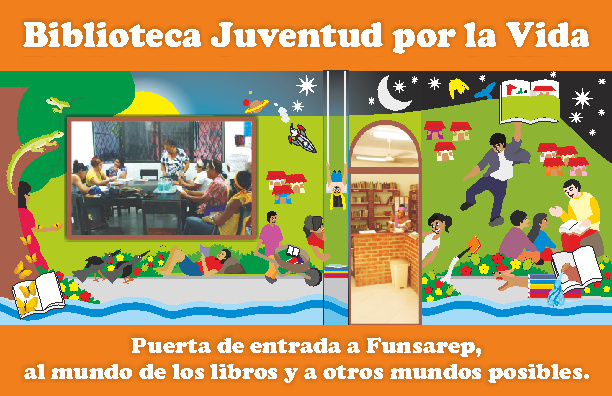 Plegable Biblioteca Juventud por la Vida