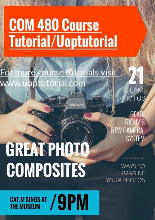COM 480 Course Tutorial/Uoptutorial