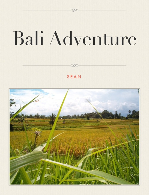 My Bali Adventure