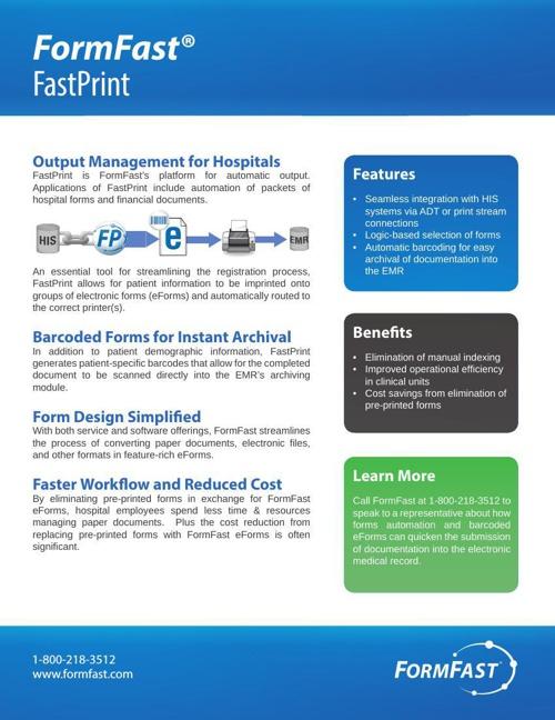 FastPrint: Automatic Output Management