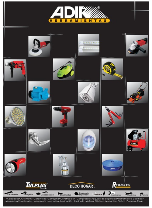 Catalogo Adir 2014