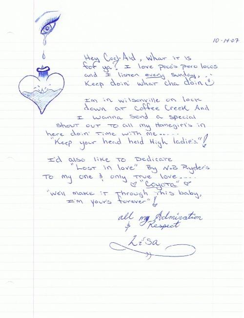 """Pocos Pero Locos """"Dedications From The Pen"""" Letters 2007: Vol. 5"""