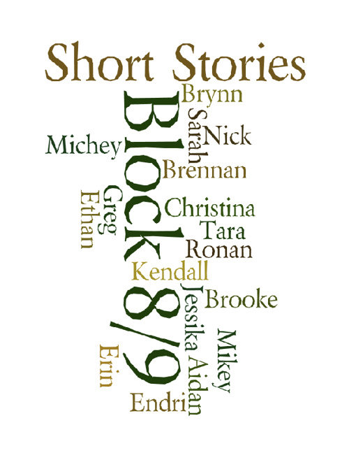 Short Stories from Block 8/9