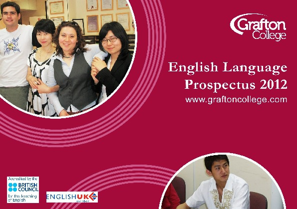 English Language Prospectus 2012