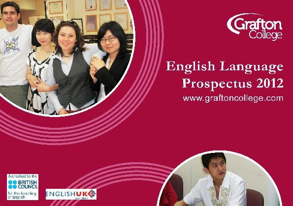 English Language Prospectus 2012