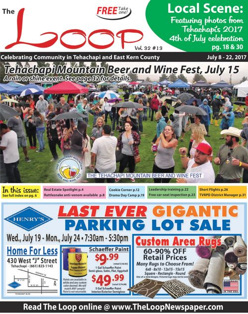 The Loop Newspaper - Vol 32 No 18 - July 8 to 22, 2017