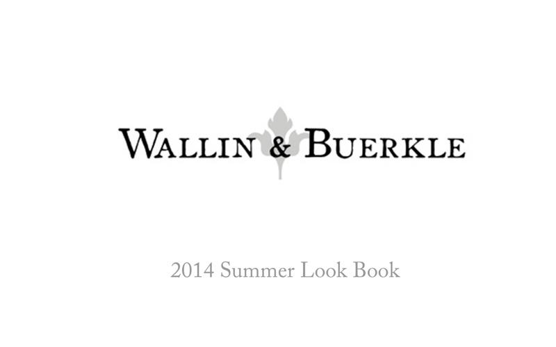 wallin & beurkle 2014 look book