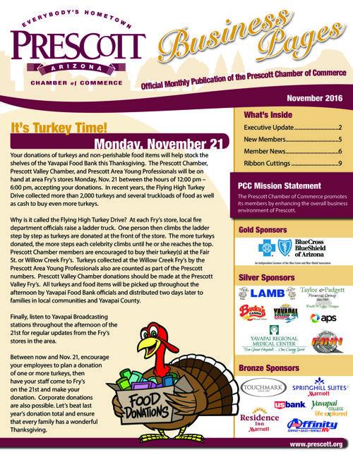 Prescott Chamber Newsletter 11-16