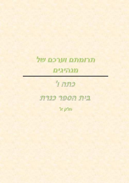 Copy of מנהיגים