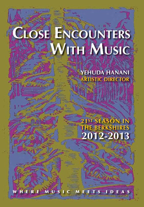 Close Encounters With Music - 2012-2013 Playbill with links