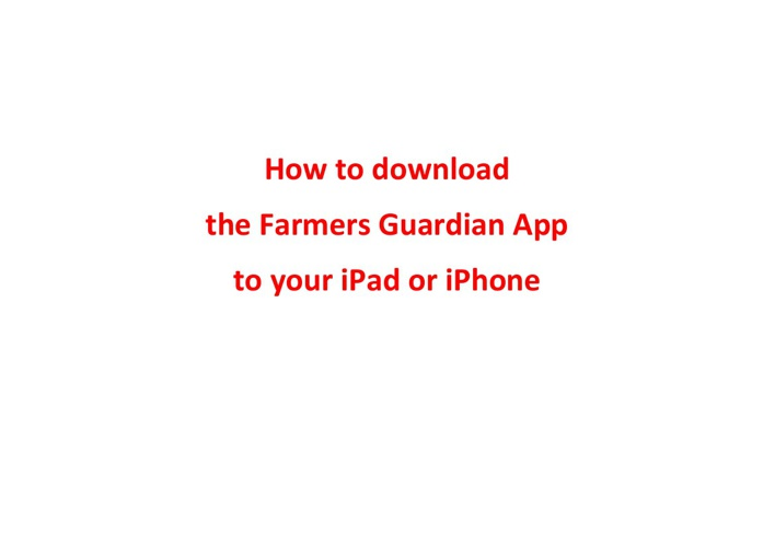 How to guide for FG App