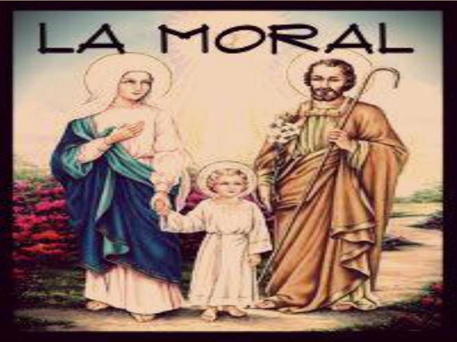 la moral y la moral cristiana
