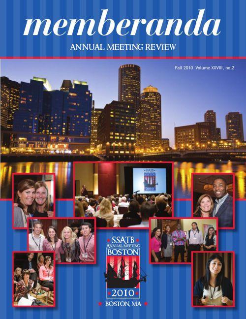 Memberanda, 2010 Annual Meeting Review