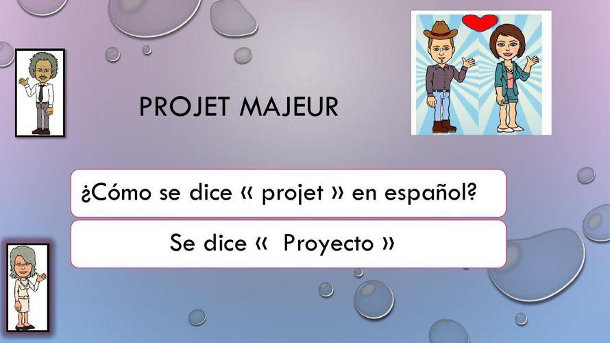 Projet majeur