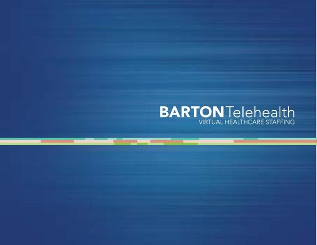 Barton Telehealth Overview